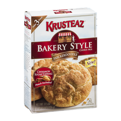 Krusteaz Bakery Style Cookie Mix Snickerdoodle