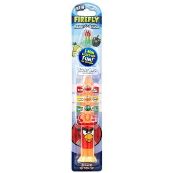 Firefly Kids! Ready Go Light-Up Timer Toothbrush, Angry Birds, 1 ea