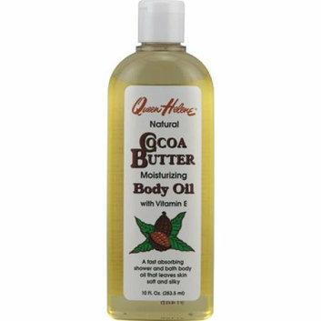 Queen Helene Natural Cocoa Butter Moisturizing Body Oil 10 fl oz