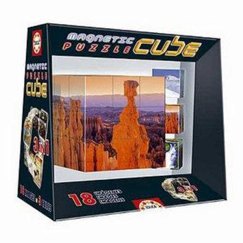 John N. Hansen Magnetic Puzzle Cube Landscapes Ages 8+
