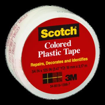 Scotch Clear Colored Plastic Tape