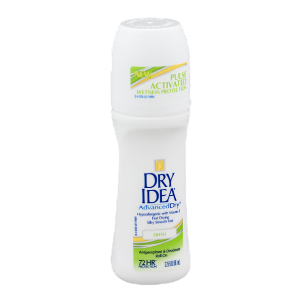 Dry Idea Advanced Dry Roll On Antiperspirant Deodorant Fresh