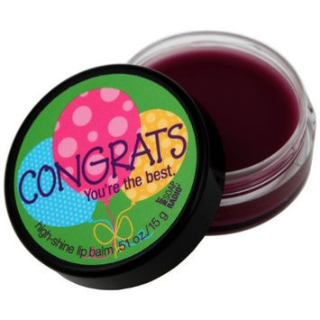 NOT Soap, Radio Greeting Card Lip Balm, Congrats You're The Best, 0.51 Ounce