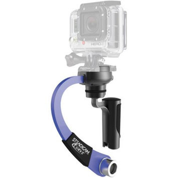 Steadicam Curve Compact Video Camera Stabilizer for GoPro (Blue)