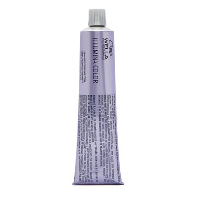 Wella Illumina Permanent Creme Hair Color 6-16 Med Blonde - Ash Violet