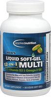 Applied Nutrition Men's Multi Dietary Supplement Liquid Soft-Gels