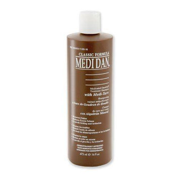 Medi Dan Medicated Dandruff Treatment Shampoo with Medi-Tar