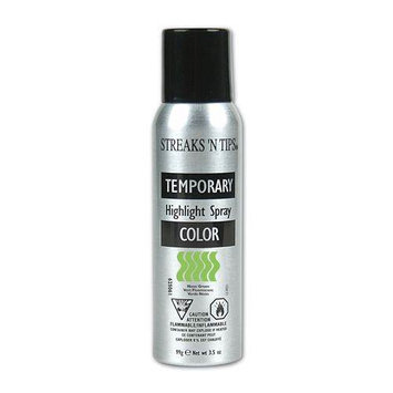 Streaks 'n Tips Streaks N Tips Temporary Color Highlight Spray Neon Green