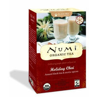 Numi Organic Tea Holiday Chai, 18-Count (Pack of 3)