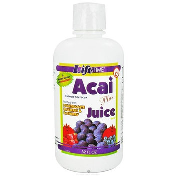 Acai Plus Juice Blend 32 oz by Life Time Nutritional Specialties