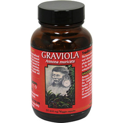 Amazon Therapeutic Laboratories Graviola 650 mg-50-Vegi Caps