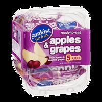 Sunkist Fun Fruit Apples & Grapes - 5 CT
