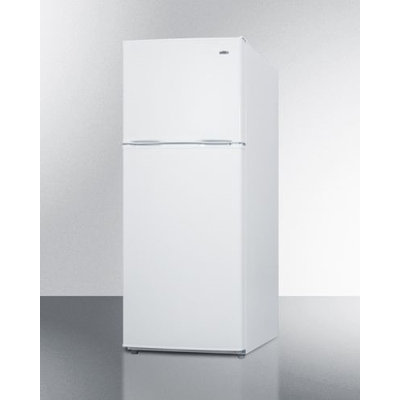 Summit 24 Wide 9.9 Cu. Ft. Frost-Free Refrigerator-Freezer - White