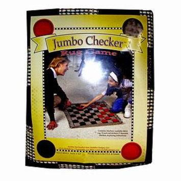 Jumbo Checker Rug Game Ages 6+