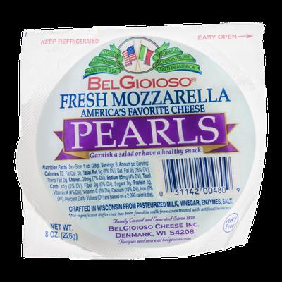 BelGioioso Fresh Mozzarella Pearls