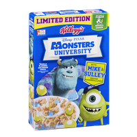Kellogg's Disney Pixar Monsters University Multigrain Cereal Vanilla