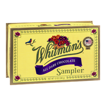 Whitman's Sampler All Dark Chocolate