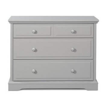Foundations,childcraft Child Craft Universal 3 Drawer Dresser - Matte White