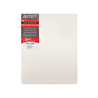 Fredrix Red Label Stretched Canvas (Set of 6)