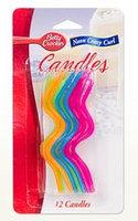Betty Crocker™ Neon Crazy Curl Birthday Candles