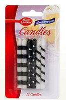 Betty Crocker™ Black & White Birthday Candles