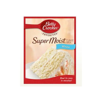 Betty Crocker™ Super Moist™ Favorites White Cake Mix