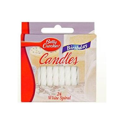 Betty Crocker™ White Spiral Birthday Candles