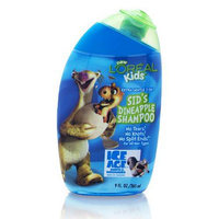 L'Oréal Paris Kids Ice Age Sid's Dineapple Shampoo Extra Gentle 2-In-1