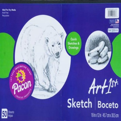 Art1st Pacon Sketch Pad, 18