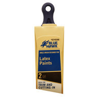 Blue Hawk Polyester Nylon Blend Angle Sash Paint Brush (Common: 2-in; Actual: 2.06-in) L7912-2