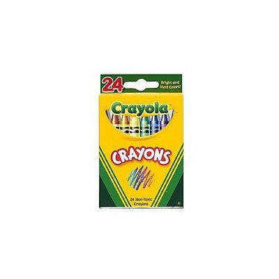 Crayola 52-3024 24 Ct Crayon In Tuck Box