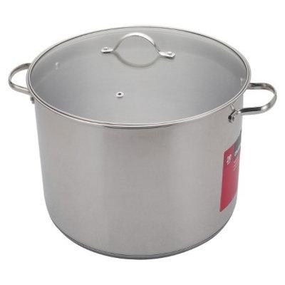 Chefmate CHEFMATE Silver 20QT S/S Stock Pot