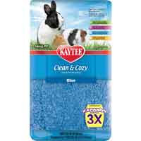 Kaytee Clean & Cozy Small Pet Bedding - Blue: 500 Cubic Inch