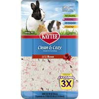 Kaytee Clean and Cozy Rose Litter: 500 Cubic Inch