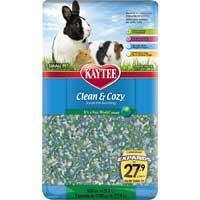 Kaytee Clean & Cozy It's A Fun World Small Animal Bedding, 500 cu. in. ()