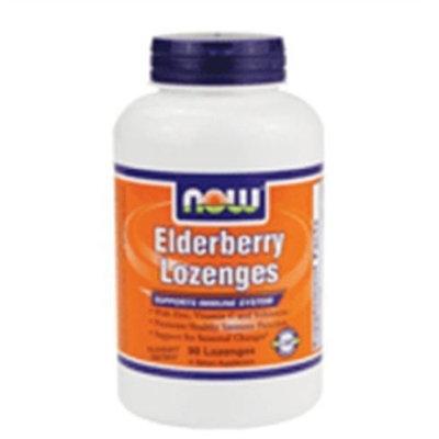 Now Foods Elderberry Lozenges, 90-Count