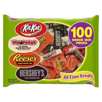 Hershey's All Time Greats Whoopers, Kit Kat, Reese Peanut Butter Cups