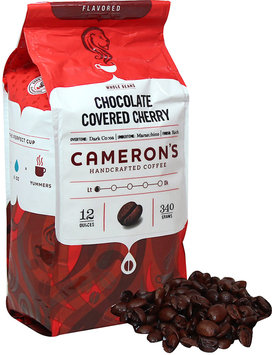 Cameron's Chocolate Covered Cherry Whole Bean Coffee-12 oz-Whole
