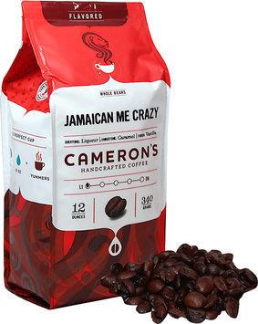 Cameron's Jamaican Me Crazy Whole Bean Coffee-12 oz-Whole