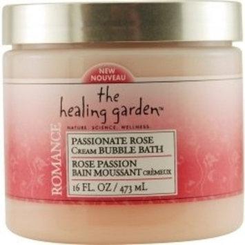 The Healing Garden Cream Bubble Bath - Passionate Rose: 16 OZ