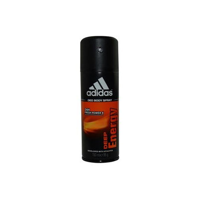 Adidas Deep Energy Men's 5-ounce Deodorant Spray