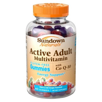 Sundown Naturals Sundown Natural Active Adult Multivitamin with Co Q10 60 mg Gummies -