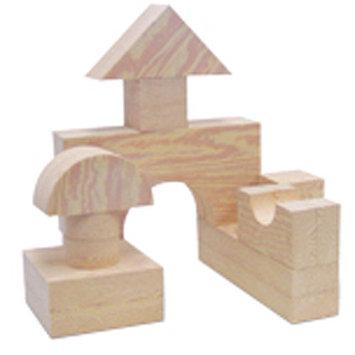 edushape Wood-Like Giant Toy Blocks