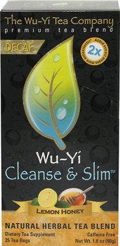Wuyi Tea Company The Wu-Yi Tea Company Wu-Yi Cleanse and Slim Lemon Honey - 25 Tea Bags