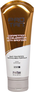 Pro Tan Competition Accelerator With Bronzer-8 oz Cream
