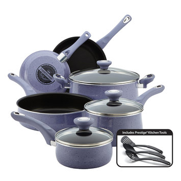 Meyer Corporation Us-farberware Division 12-Piece Cookware Set, Lavender