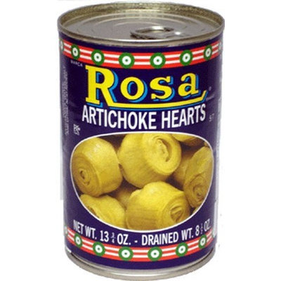 Rosa Artichoke Hearts, 14-Ounce Cans (Pack of 12)
