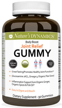 Natures Dynamics Body Boost Joint Relief Gummy-60-Gummies