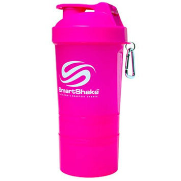 Smart Shake, Neon Pink Shaker 20 oz