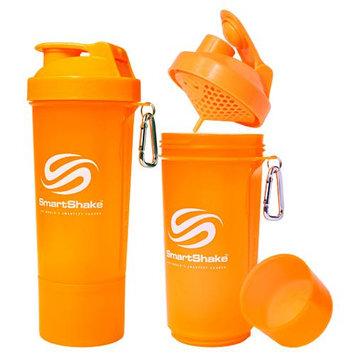 SmartShake Slim 17 oz. Shaker Bottle - Neon Orange